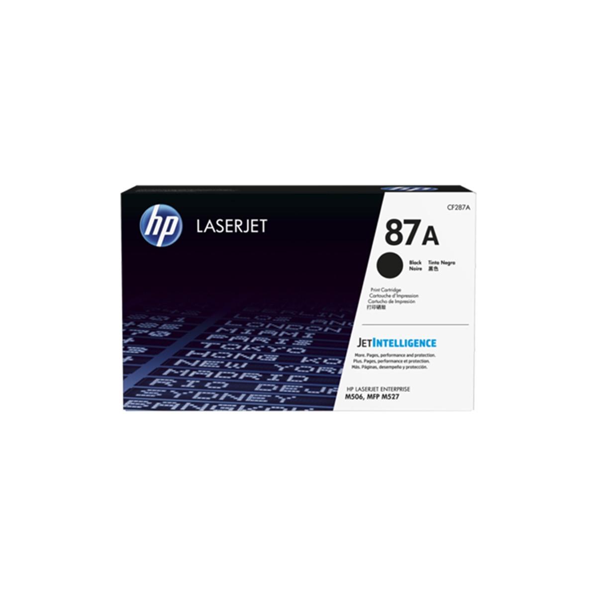 Toner HP CF287A CF287AB 87A | Laserjet M506dn M506x M527dn M501dn | Original 9k