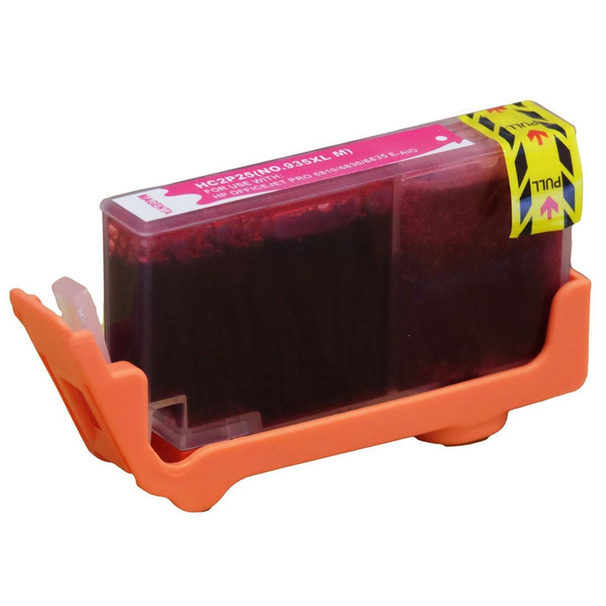Cartucho de Tinta Compatível com HP 935XL Magenta C2P25AL C2P25AN | Officejet 6230 6830 | 13ml