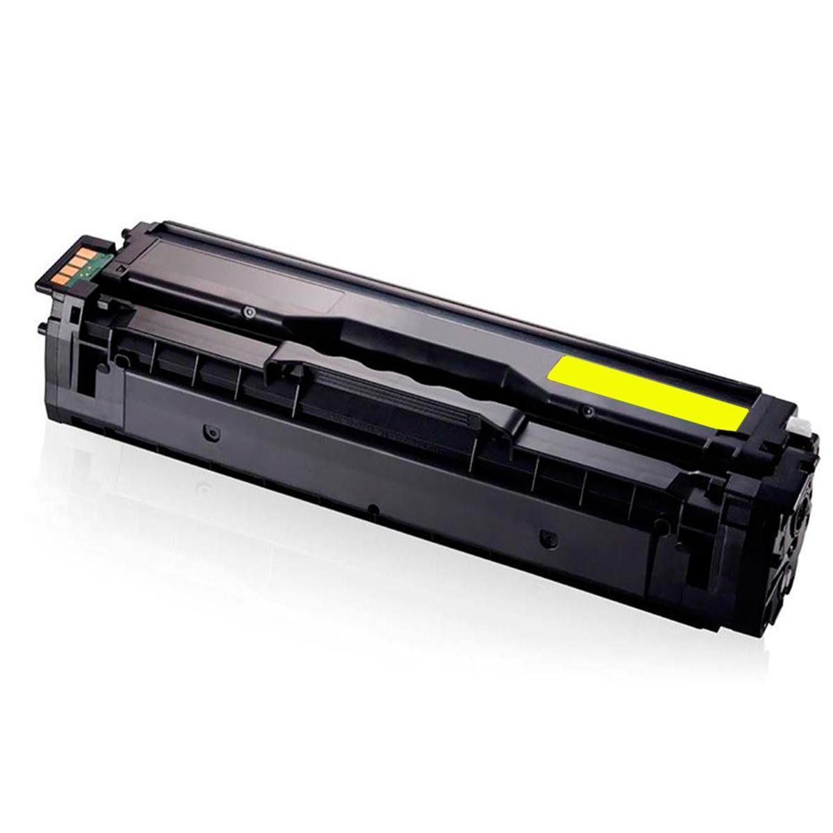 Toner Compatível Samsung CLT-Y504S 504S Amarelo   CLP415NW CLX4195FN SL-C1810W   Importado 1.8k