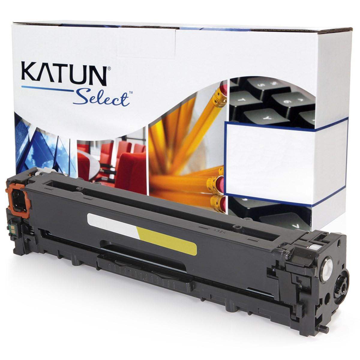Toner Compatível HP CB542A 125A Amarelo | CP1515 CP1215 CM1312 Específico | Katun Select 1.4k