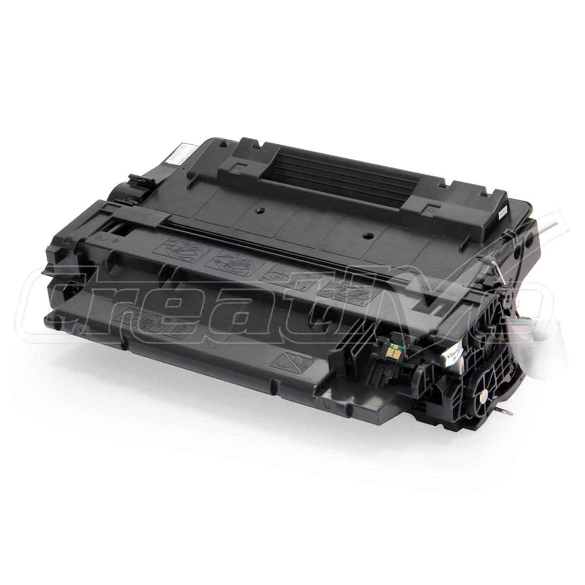 Toner Compatível com HP CE255A CE255AB   P3015N P3015DN P3016 Enterprise 500 M525F Premium 6k