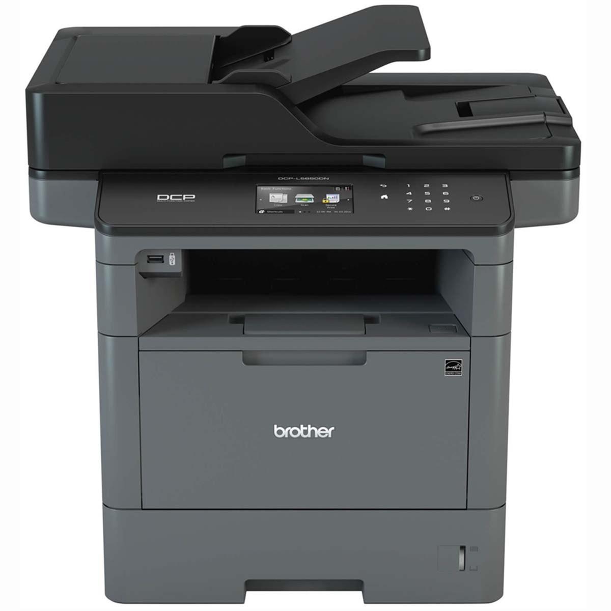 Impressora Brother MFC-L5802DW MFCL5802 Multifuncional Laser Monocromática com Wireless e Duplex
