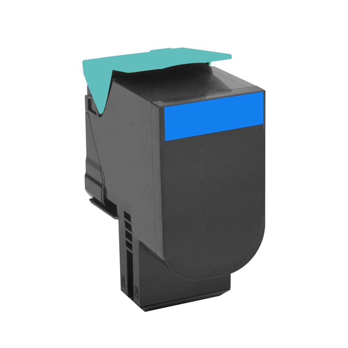Toner Compatível com Lexmark C54x C540H1CG Ciano C540A X544 X543 X548 C544 C546 C548 | Importado 2k