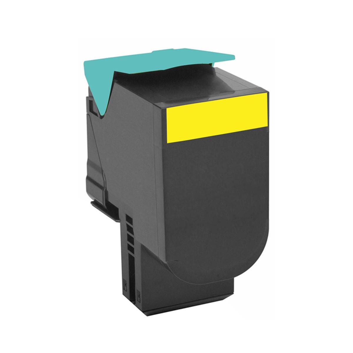 Toner Compatível Lexmark C54x C540H1YG Amarelo | C540A X544 X543 X548 C544 C546 C548 | Importado 2k