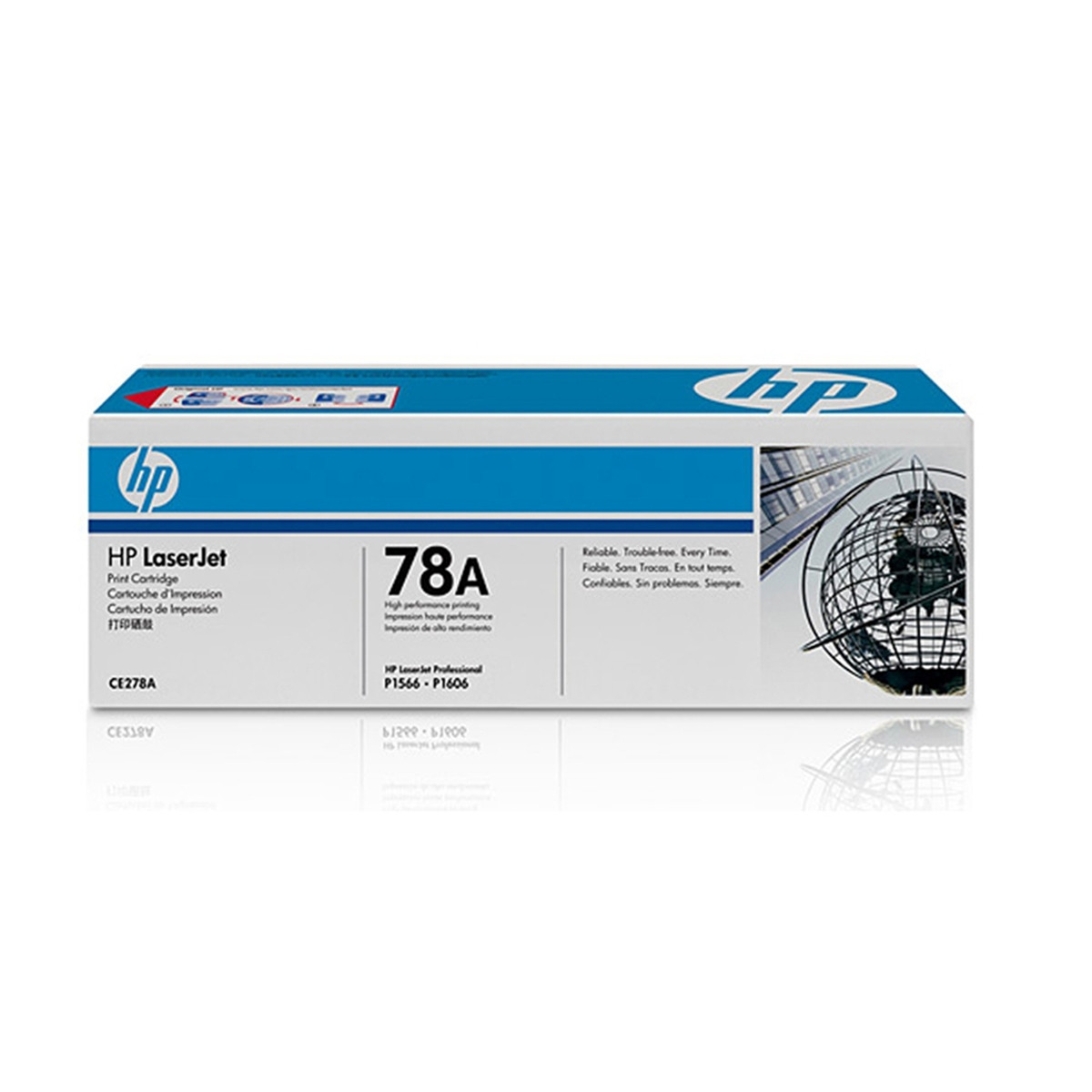 Toner HP CE278A CE278AB Standard | P1566 P1606 P1606N P1606DN M1536 M1536DNF | Original 2.1k