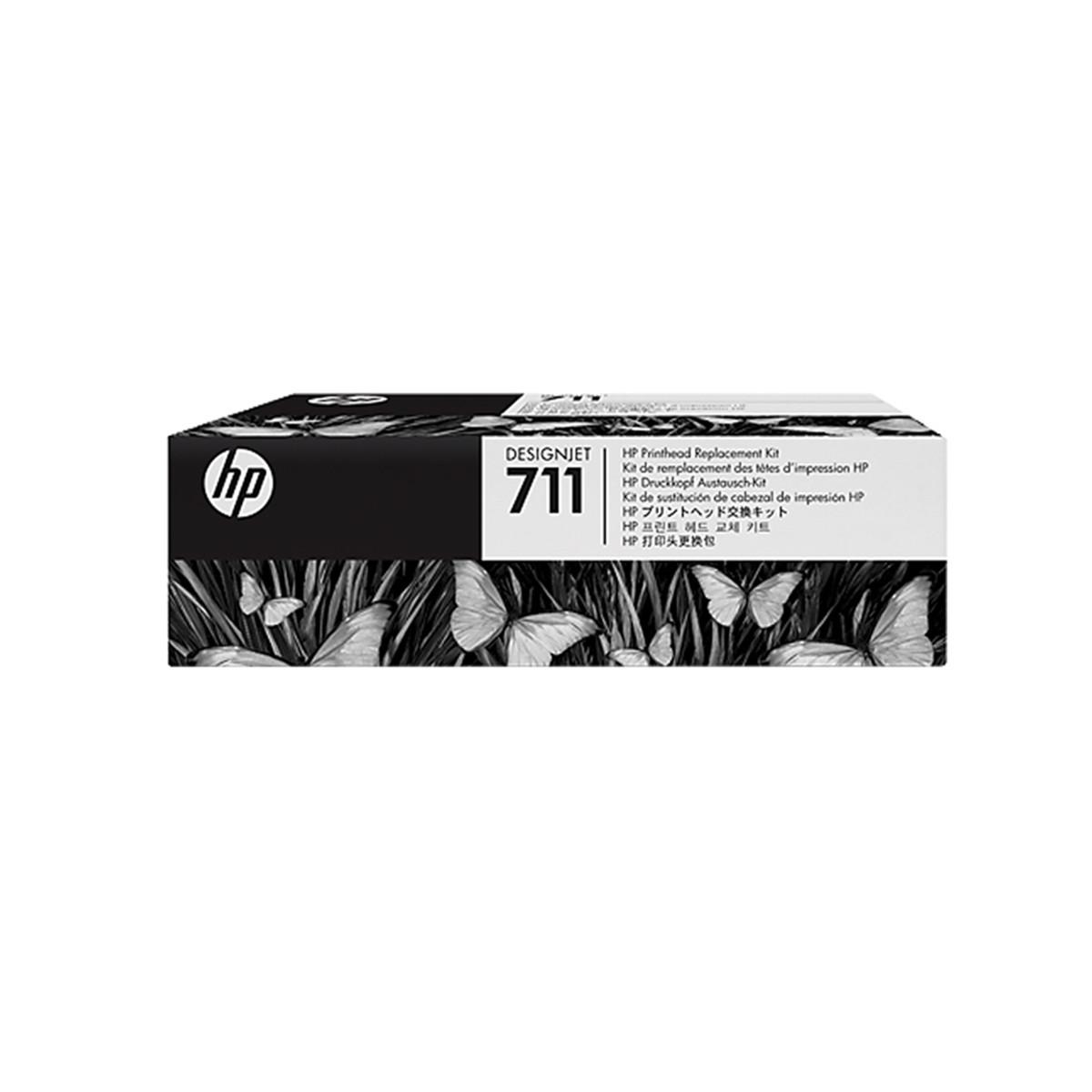 Kit de Substituição de Cabeça de Impressão HP 711 | T120 T520 T130 | C1Q10A | Original