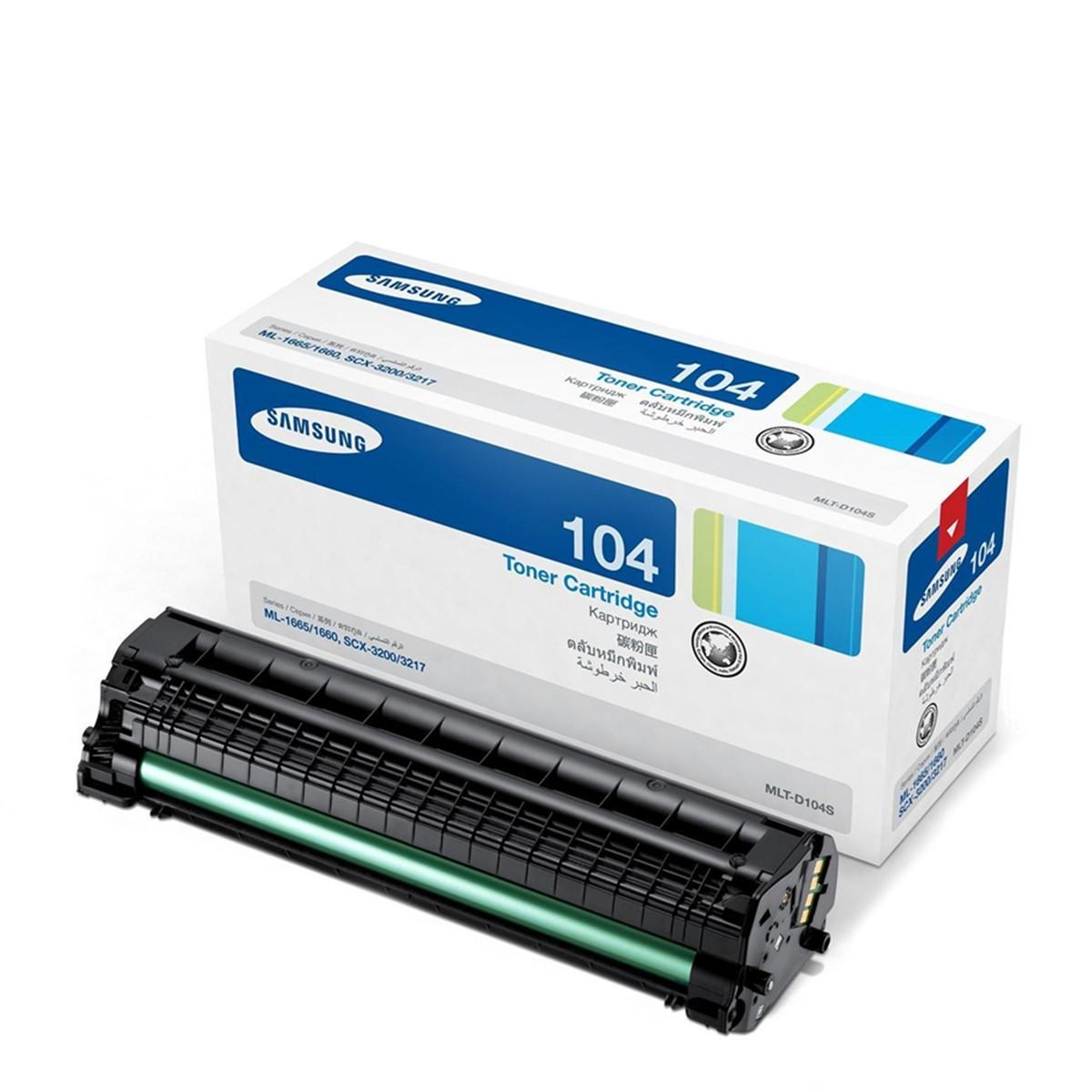 Toner Samsung MLT-D104S D104 104S | ML-1665 ML-1660 ML-1860 SCX-3200 | Original 1.5k