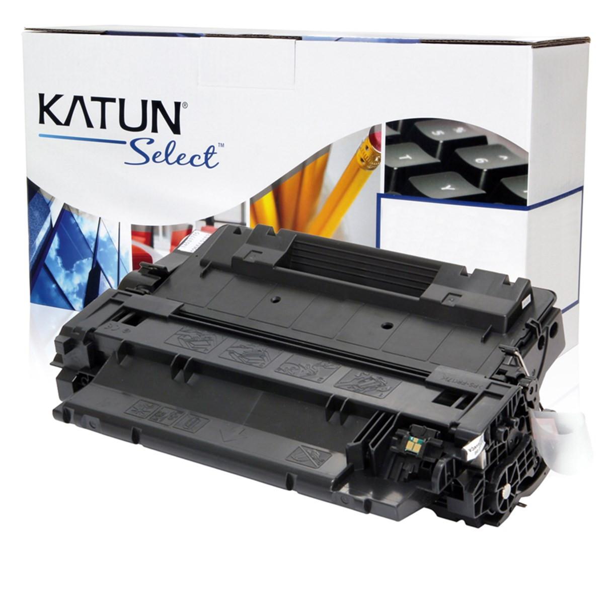 Toner Compatível com HP CE255A CE255AB | P3015 P3015DN P3016 Enterprise 500 M525F | Katun Select