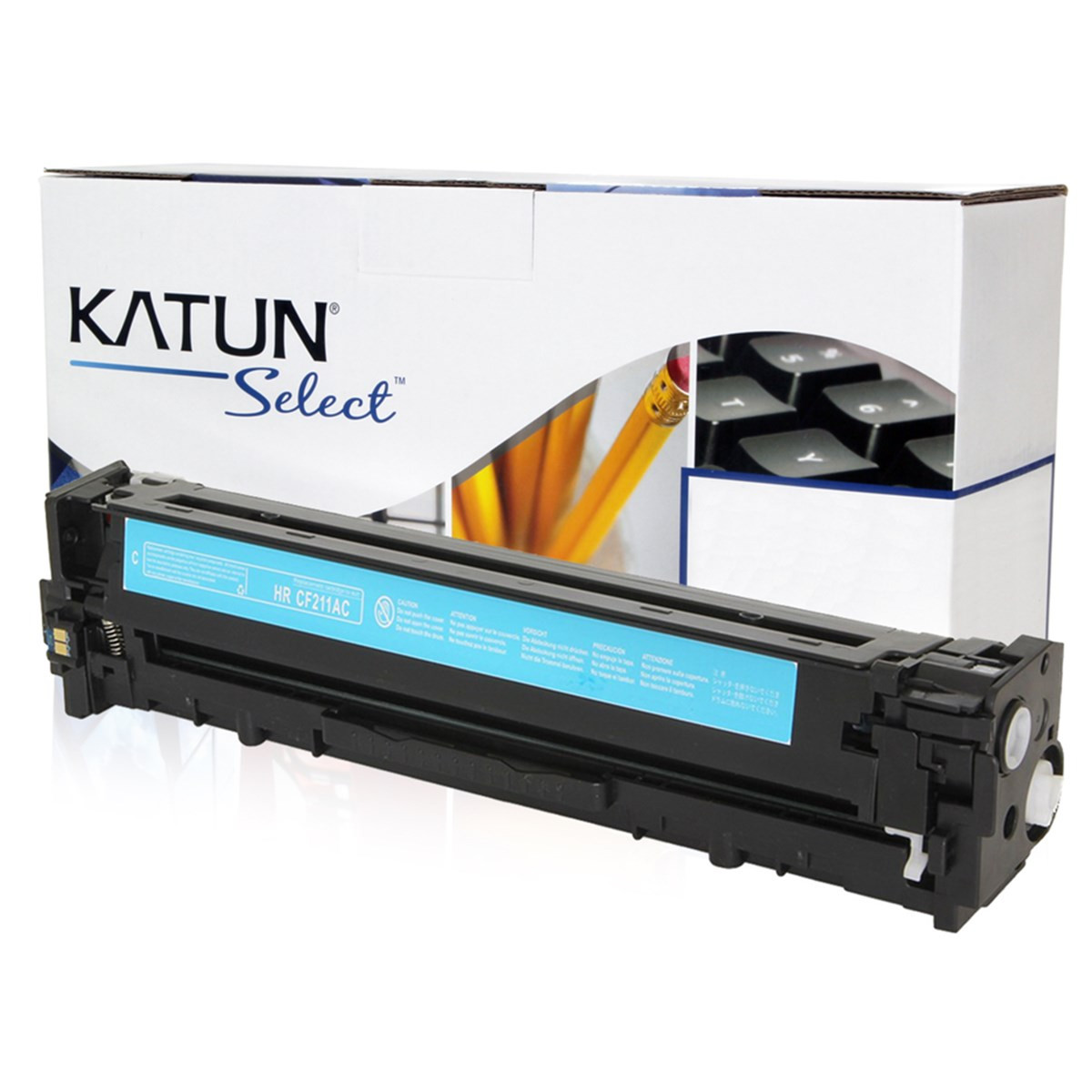 Toner Compatível com HP CF211A 131A Ciano | Pro 200 M276 M251NW M276N M276NW | Katun Select 1.8k