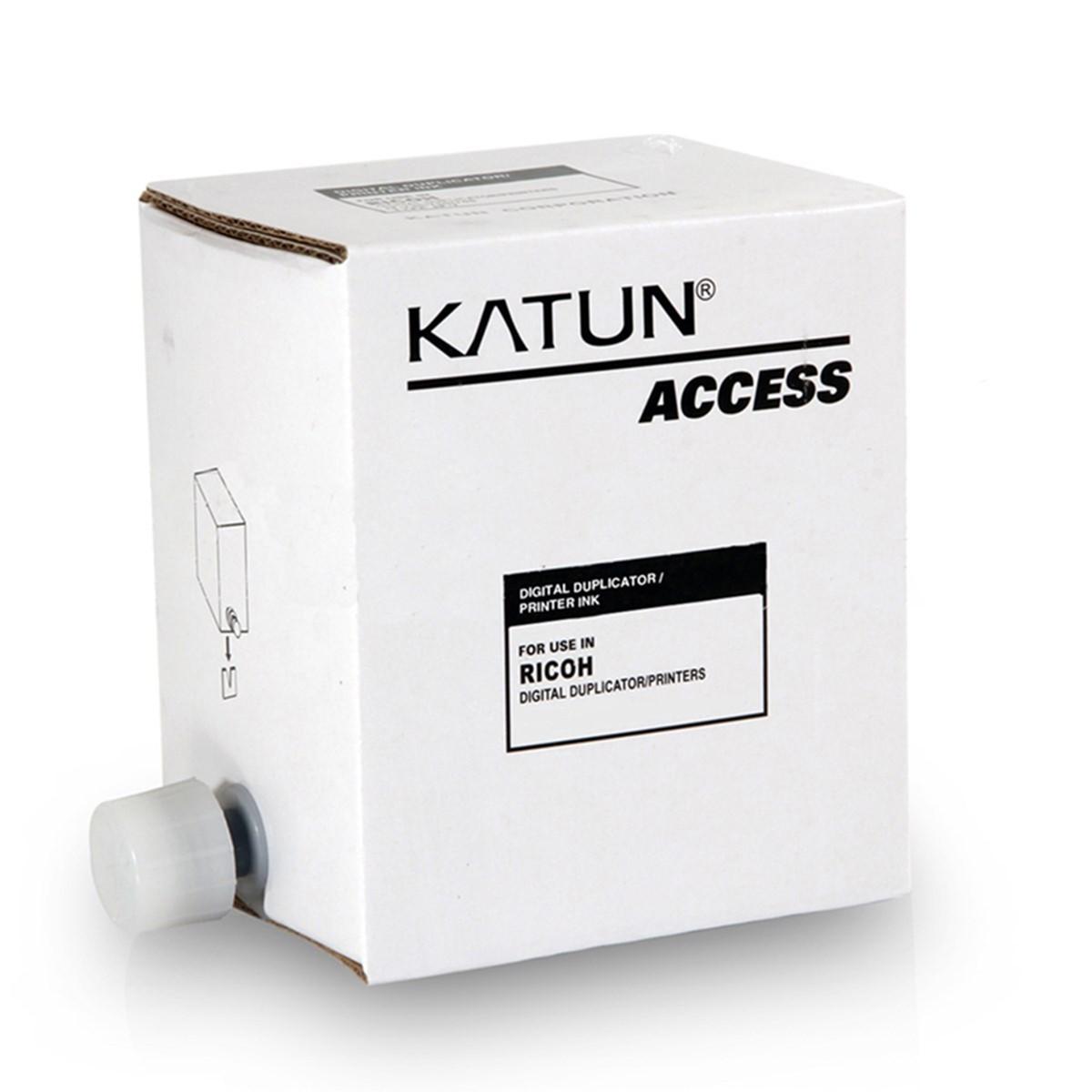 Tinta para Duplicador Ricoh JP12 JP30 Preto | CP5308 CP5309 LDD120 JP1230 | Katun Access 600ml