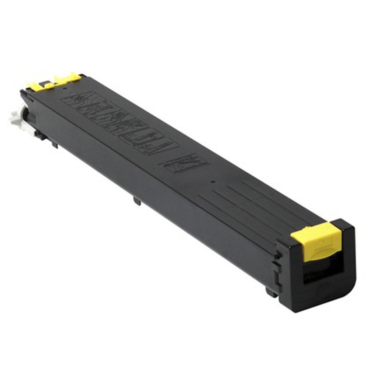 Toner Sharp MX-51BTYA MX-51NTYA Amarelo | MX4110 MX4111 MX5110 MX5111 | Katun Business Color 340g
