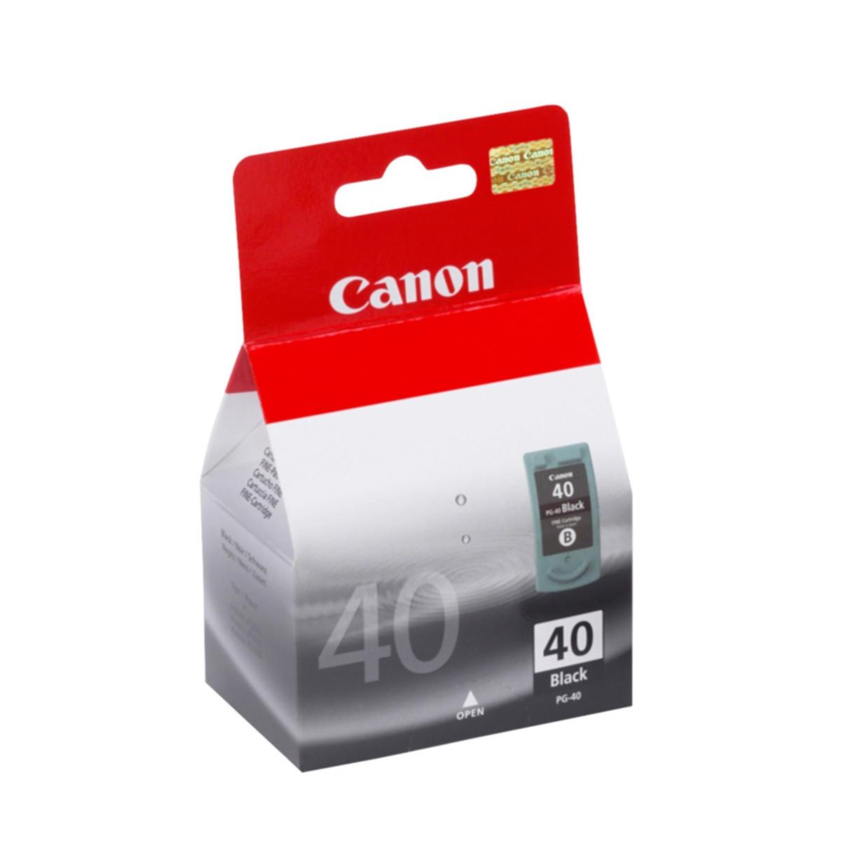 Cartucho de Tinta Canon PG40 PG-40 Preto | Original 16ml