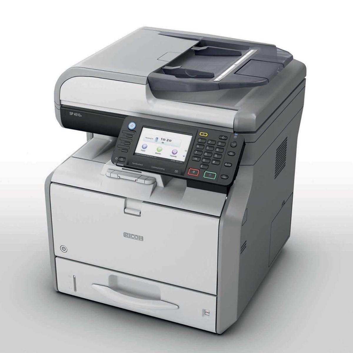 Impressora Ricoh SP 4510SF SP4510 SP-4510 Multifuncional Laser Monocromática