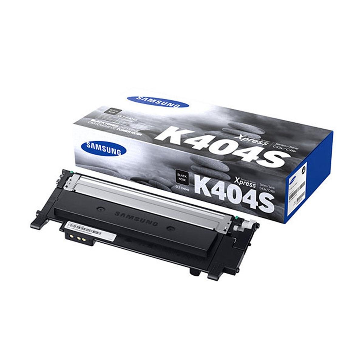 Toner Samsung CLT-K404S Preto | C430 C480 C430W C480W C480FW 430W 480W 480FW | Original 1.5k