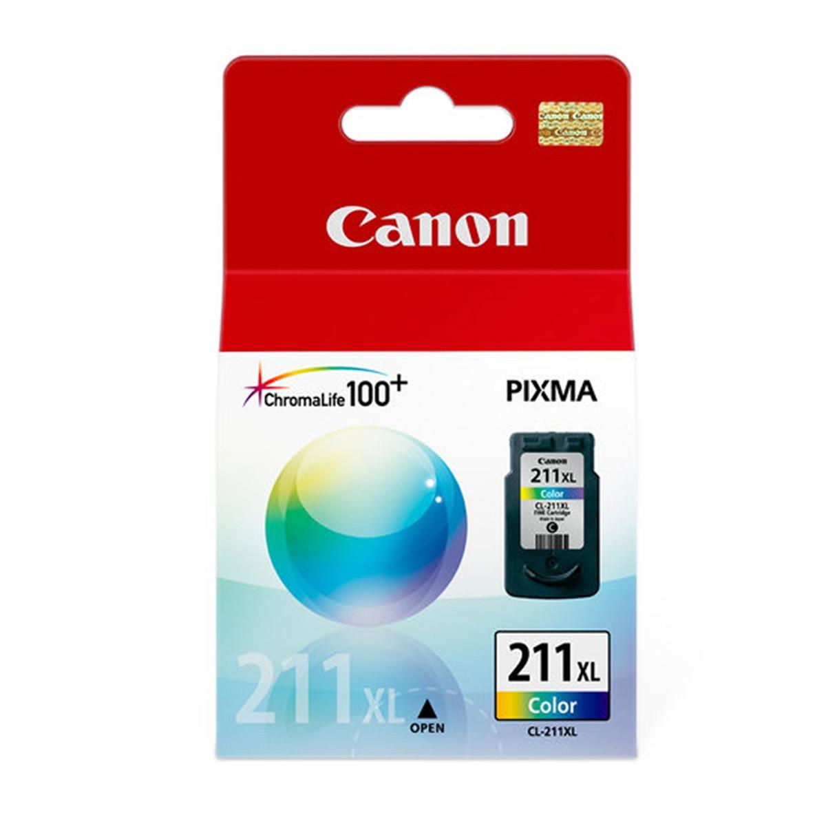 Cartucho de Tinta Canon CL-211XL CL211 Color 2975B017AA   Original 13ml