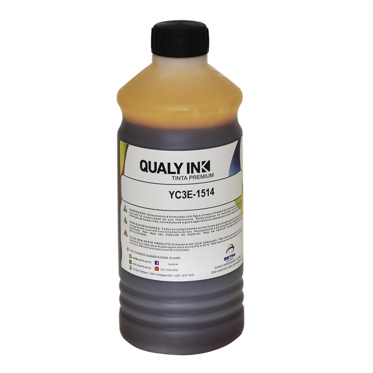 Tinta Epson T673420 Amarelo Corante | L800 L810 L805 L1800 | Qualy ink 1kg