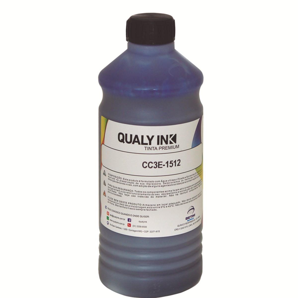Tinta Epson T504220 Ciano Corante CC3E-1512   L6191 L4150 L4160 L6161 L6171   Qualy Ink 1kg