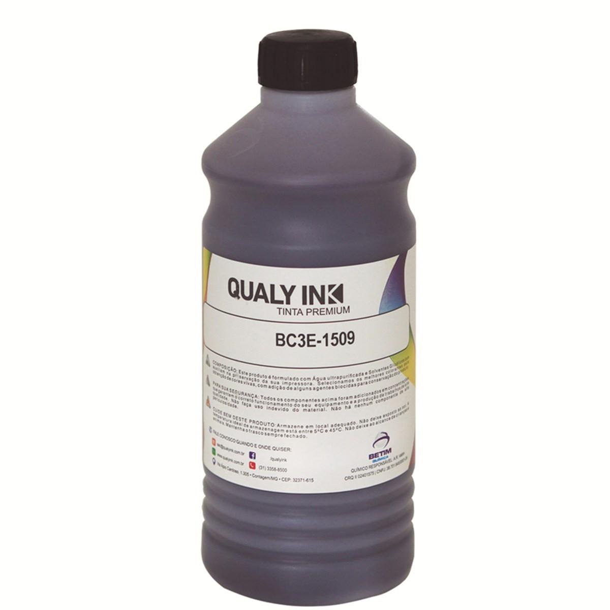 Tinta Epson T673120 Preto Corante BC3E-1509   L800 L810 L805 L1800   Qualy ink 1kg