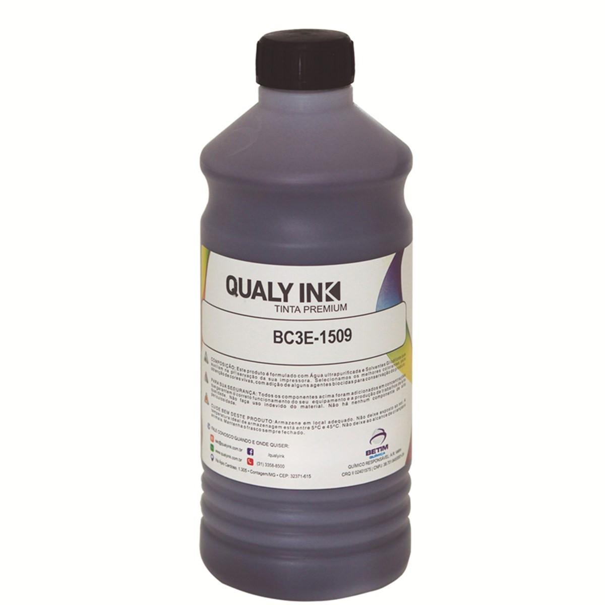 Tinta Epson T544120 Preto Corante BC3E-1509   L3150 L3110 L5190   Qualy Ink 1kg