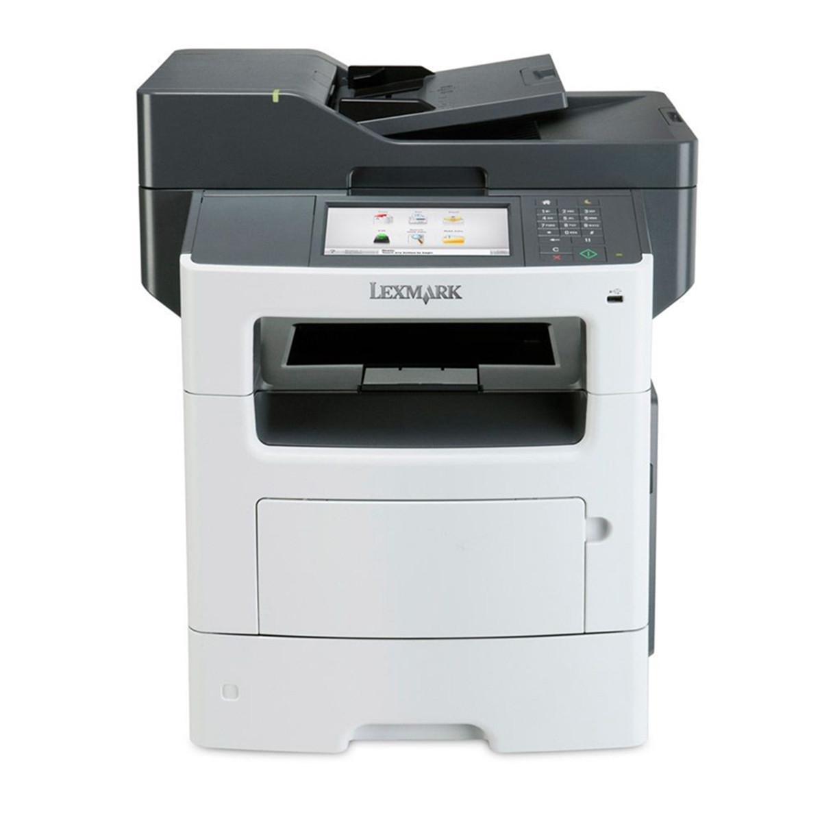 Impressora Lexmark MX611DHE MX611 | Multifuncional Laser Monocromática com RADF e Rede