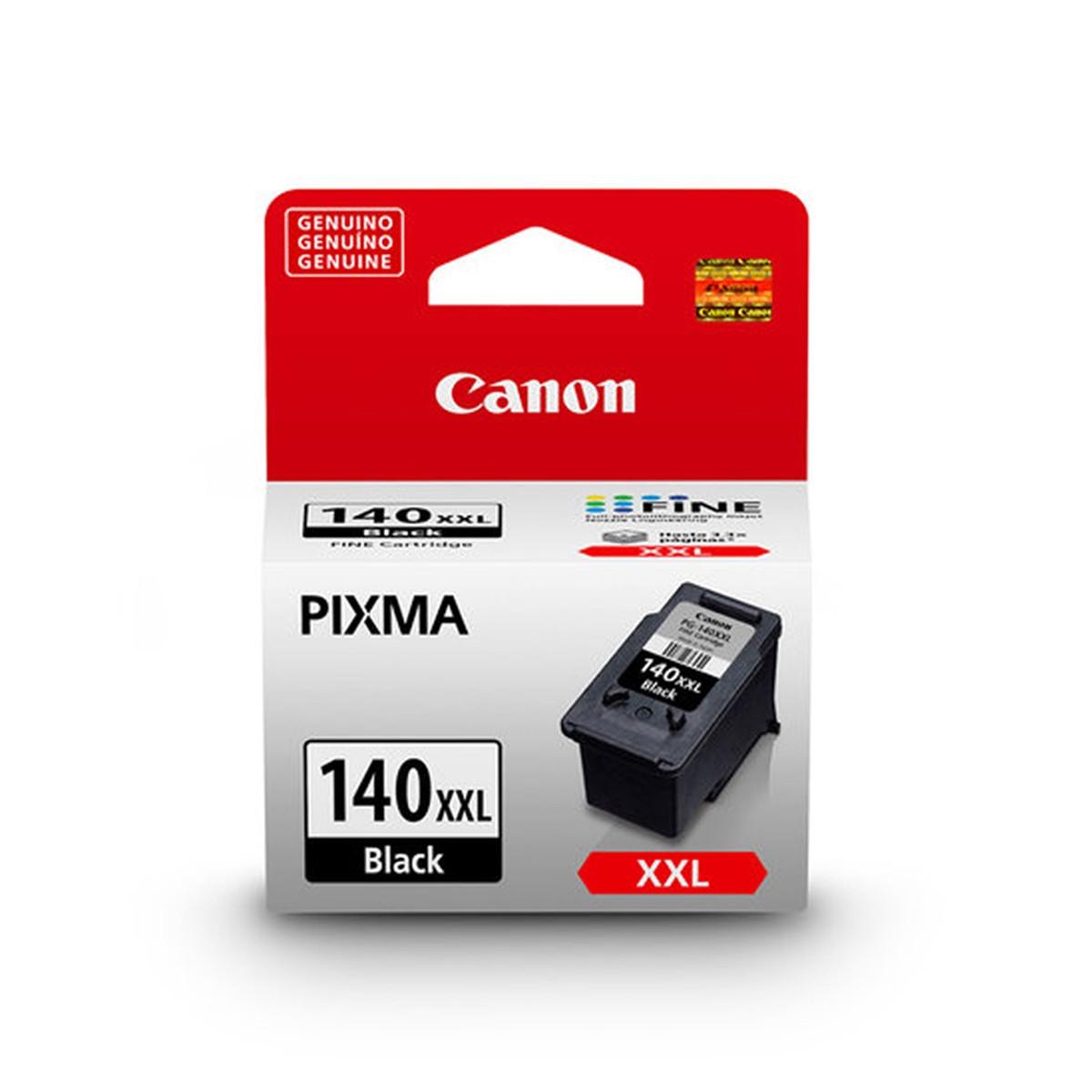 Cartucho de Tinta Canon 140XXL PG-140XXL PG140 Preto | Original 21ml