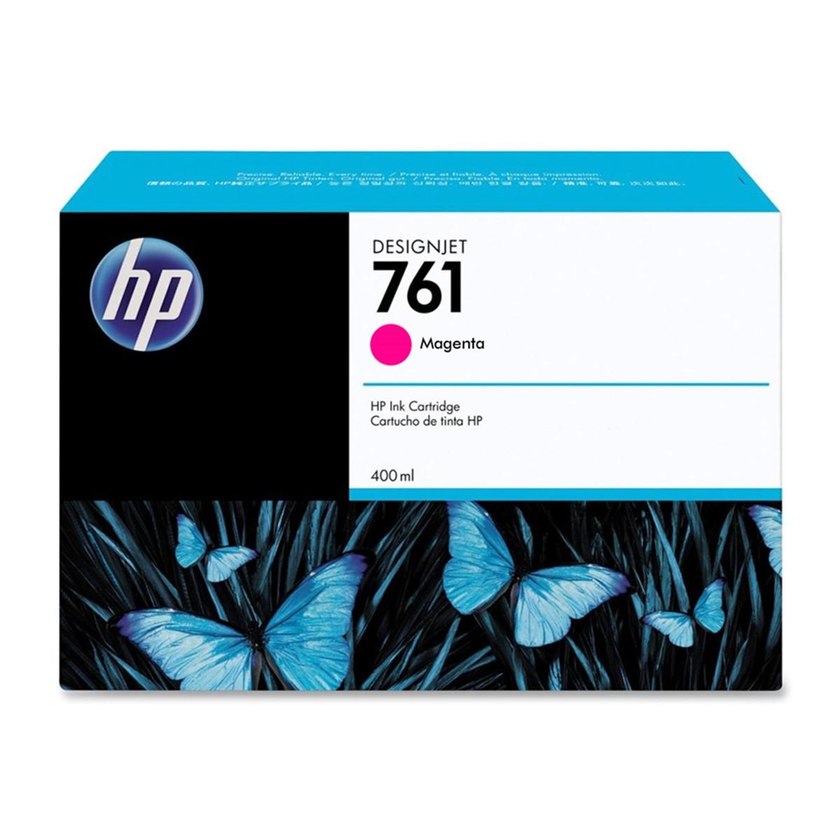 Cartucho de Tinta HP 761 Magenta CM993A | T7100 T7200 | Original 400ml