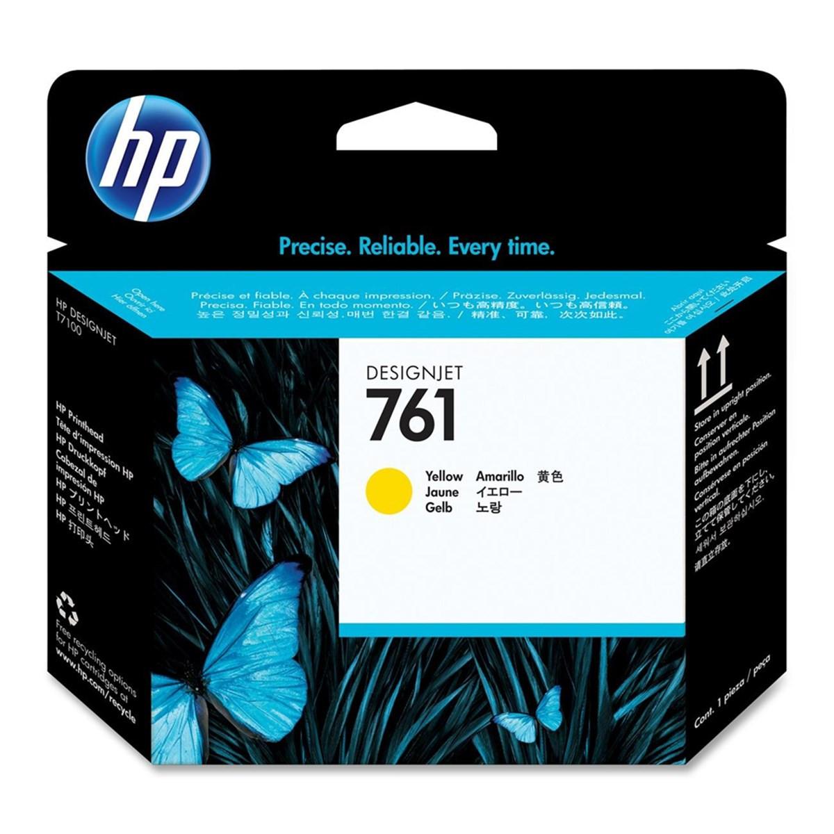 Cabeça de Impressão HP 761 Amarelo CH645A | T7100 T7200 CQ105A F2L46A | Original