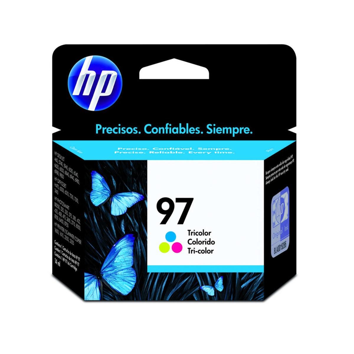 Cartucho de Tinta HP 97 C9363WB C9363WL Colorido | Original 17,5ml