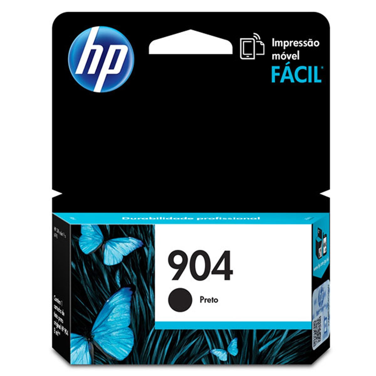 Cartucho de Tinta HP 904 T6M00AB T6M00AL Preto | Officejet Pro 6970 | Original 8ml