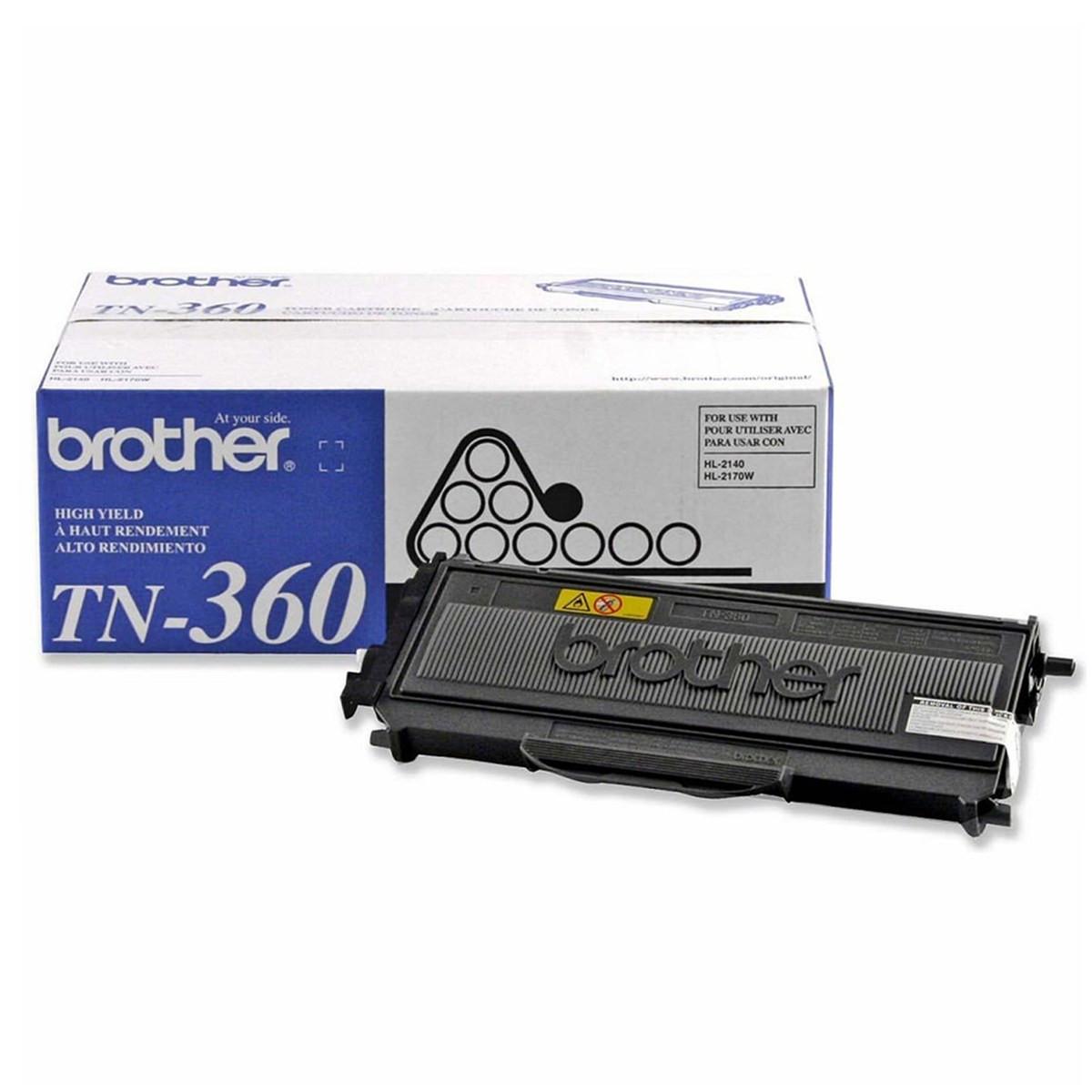 Toner Brother TN360 | DCP7040 HL2140 DCP7030 HL2170W MFC7340 MFC7345N | Original 2.6k