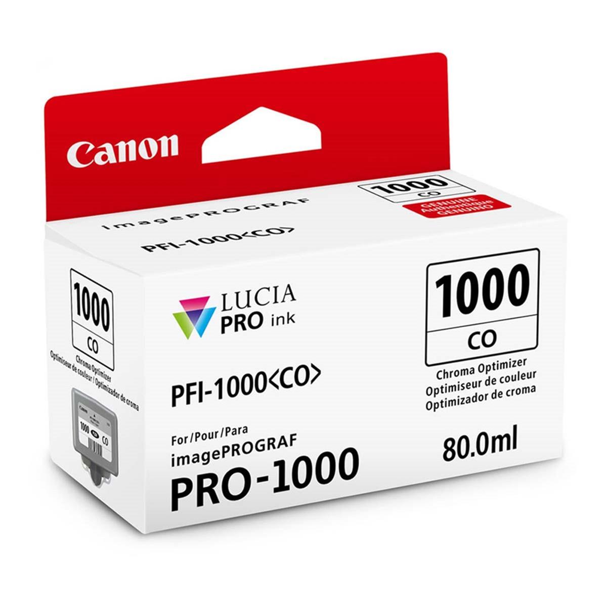 Cartucho de Tinta Canon PFI-1000 PFI-1000CO Chroma Optimizer | Original 80ml
