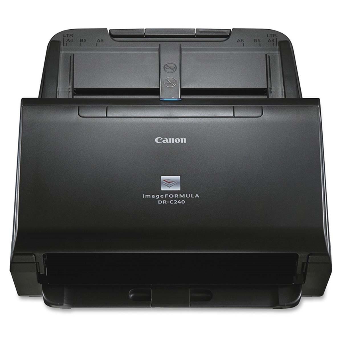 Scanner Canon imageFORMULA DR-C240   Conexão USB Até Tamanho Ofício ADF para 60 Folhas com Duplex