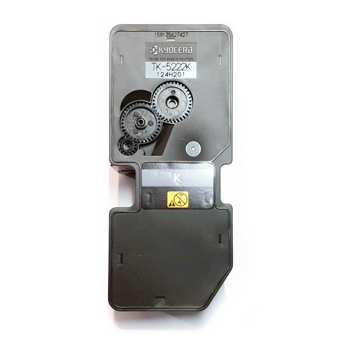 Toner Kyocera TK-5222K Preto | P5021CDN 5021CDN M5521CDN 5521CDN | Original 1.2k