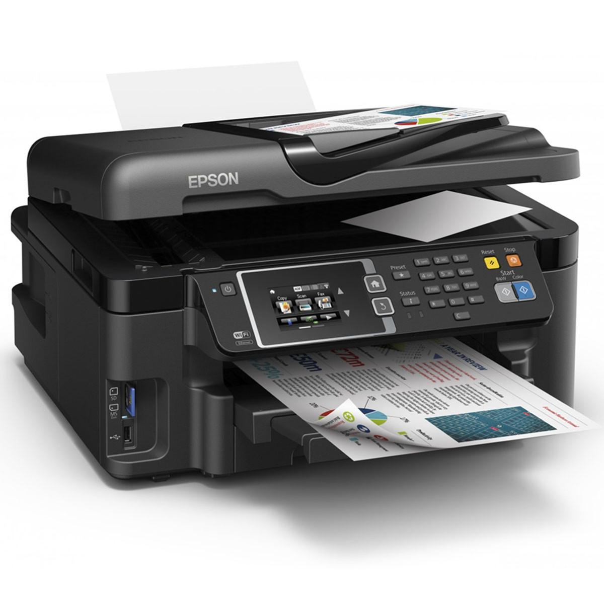 Impressora Epson L1455 L-1455 | Multifuncional Tanque de Tinta A3 com Duplex