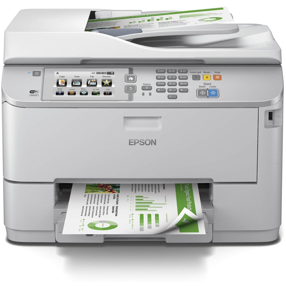 Impressora Epson WorkForce WF-5690 Multifuncional com Wireless Duplex e ADF