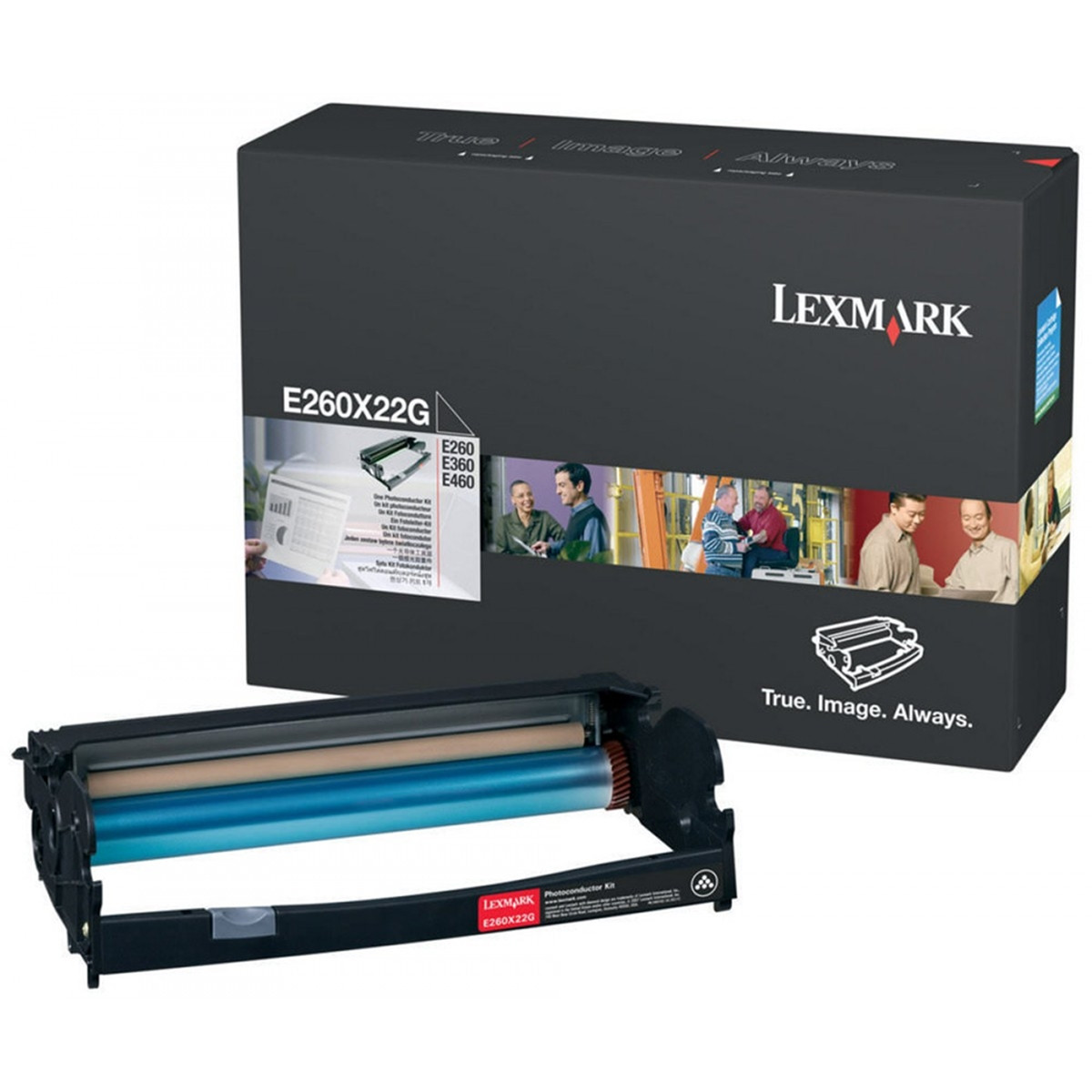 Cartucho de Cilindro Lexmark E260 E360 E460 X264 X364 X463 X464 X466 E260X22G | Original