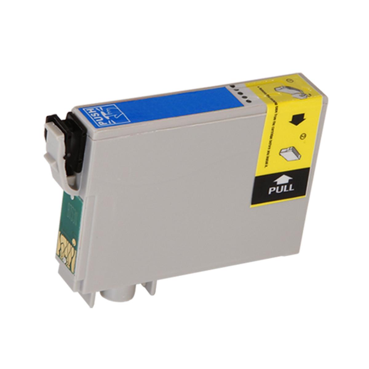 Cartucho de Tinta Compatível com Epson T078220, T0782, 78 | Ciano | R380 | R260 | RX580 | 12 ml