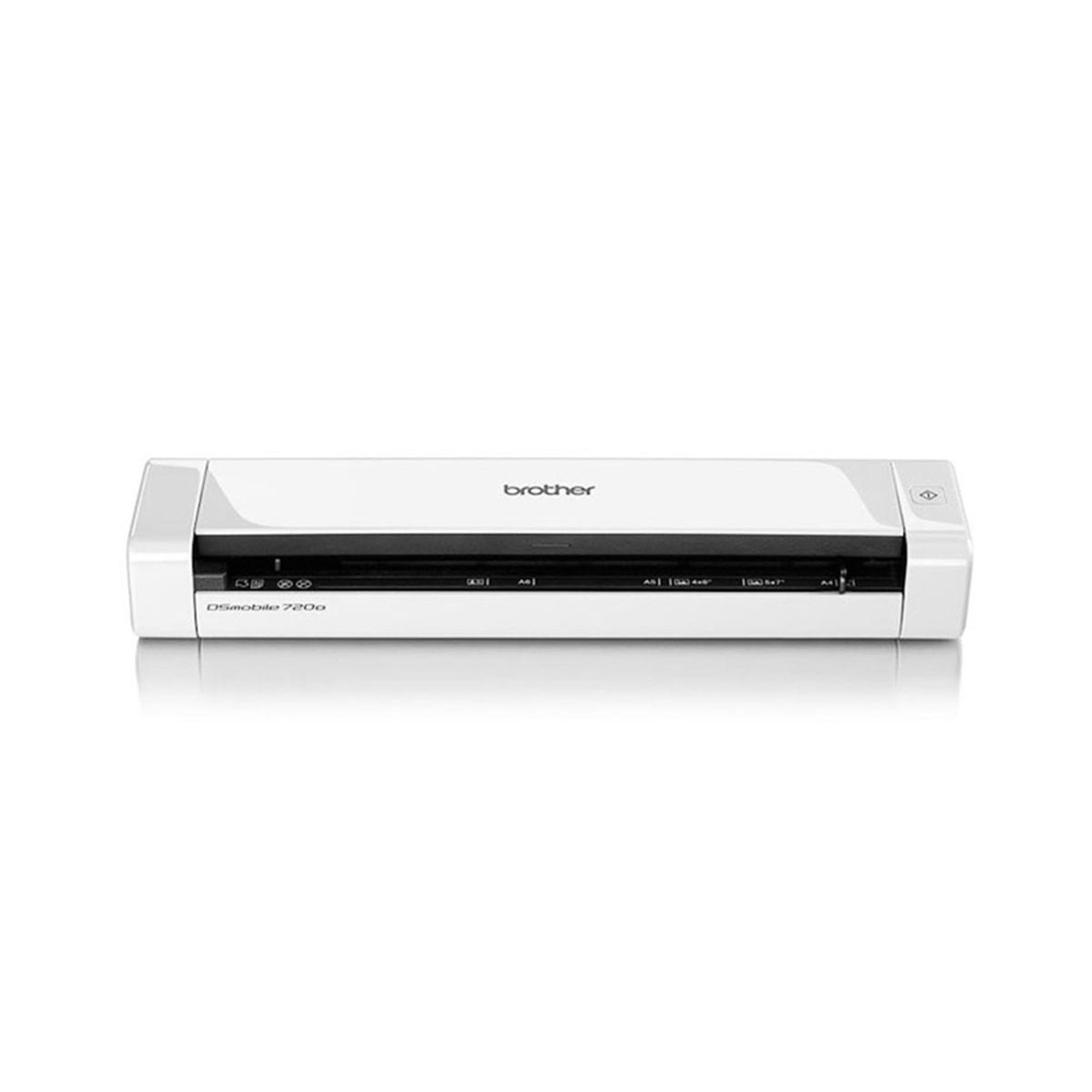 Scanner Brother DS-720D Portátil Duplex Conexão USB Até Tamanho A4