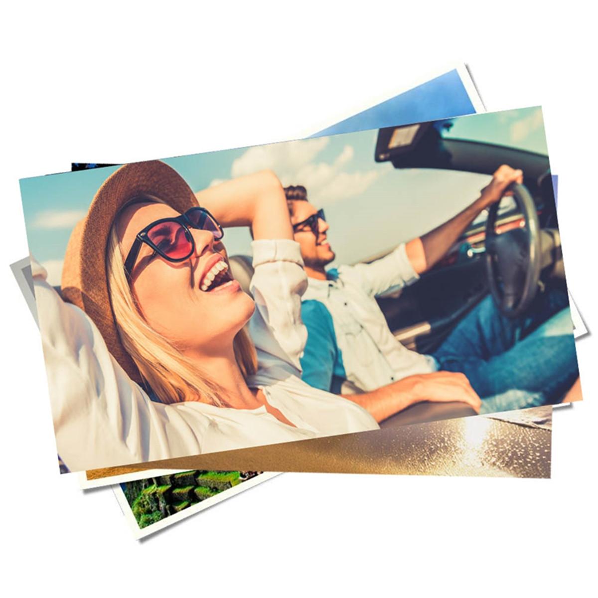 Papel Fotográfico Glossy Brilhante Dupla Face | 180g tamanho A3 | Pacote com 20 folhas