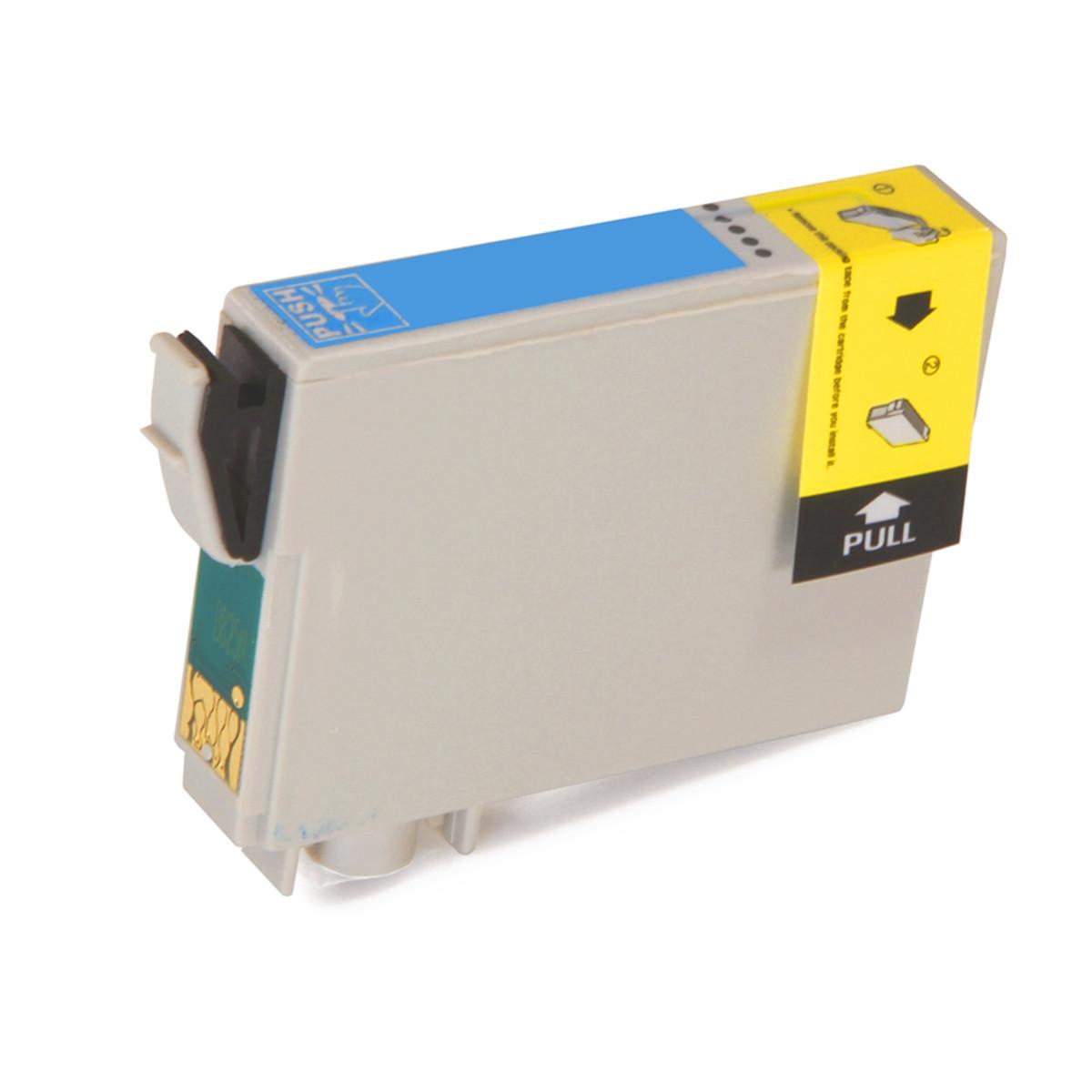 Cartucho de Tinta Compatível com Epson T078520, T0785, 78 | Ciano Claro | RX580 R260 R380 | 12 ml
