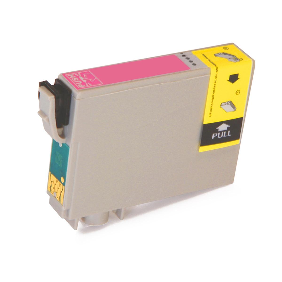 Cartucho de Tinta Epson Magenta Claro T078620, T0786, 78 | RX580 | R260 | R380 | 12 ml | Compatível