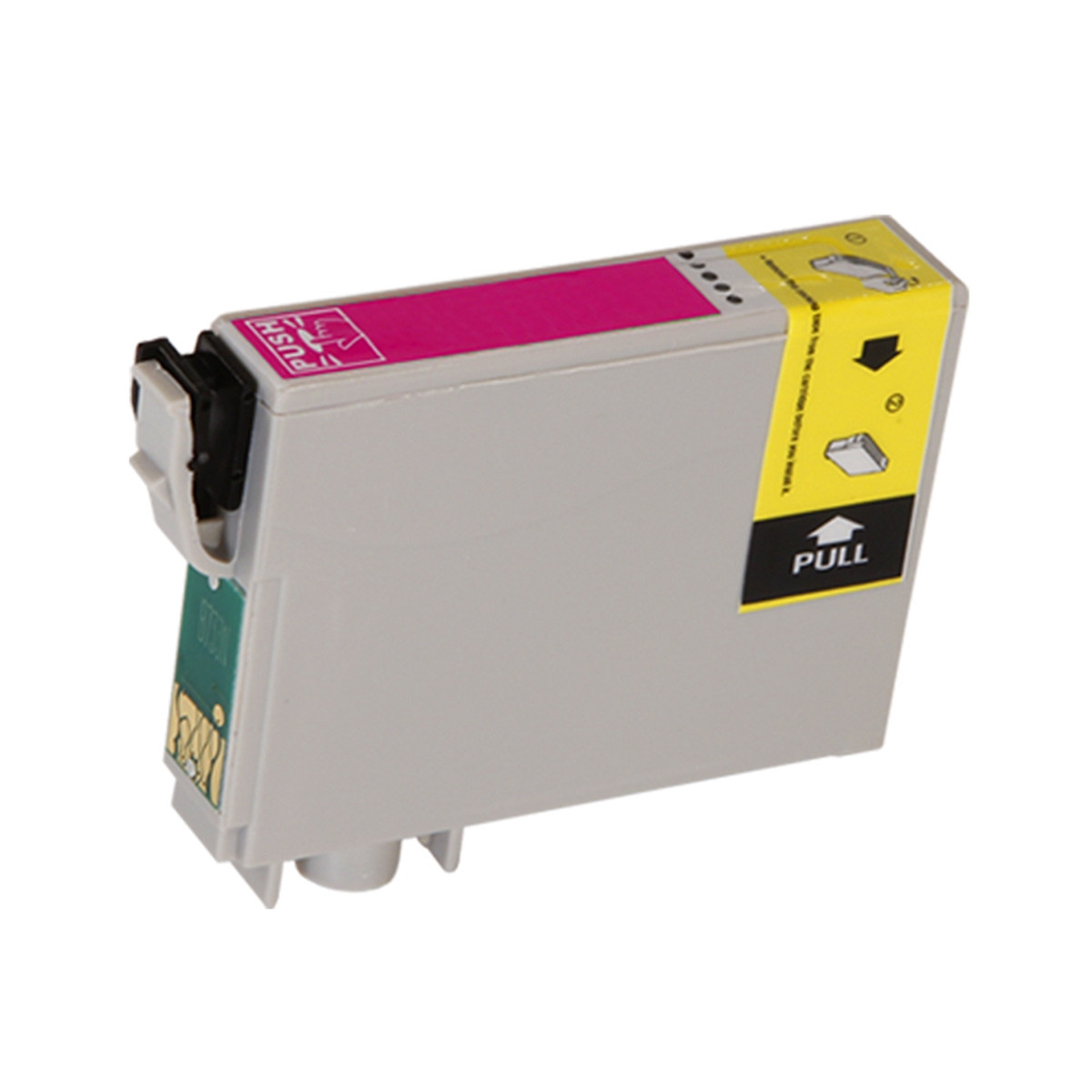 Kit com 10 Cartuchos de Tinta Compatível com Epson T073320 T073 Magenta T10 T20 TX200 TX209 12 ml