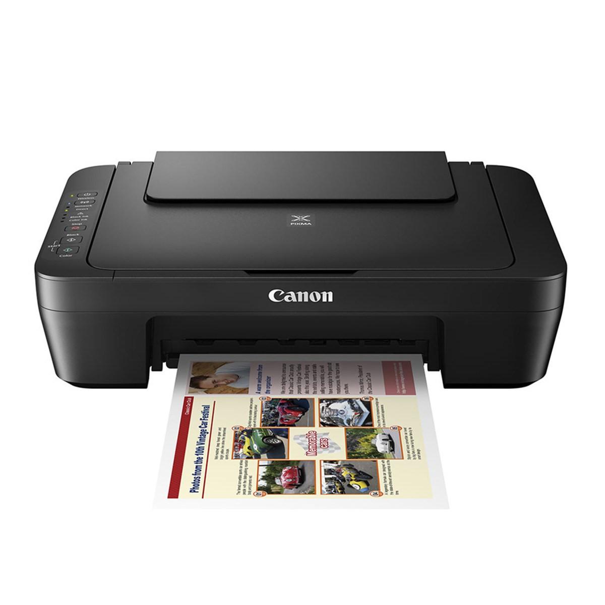 Impressora Canon Pixma MG3010 | Multifuncional Jato de Tinta com Conexão Wireless