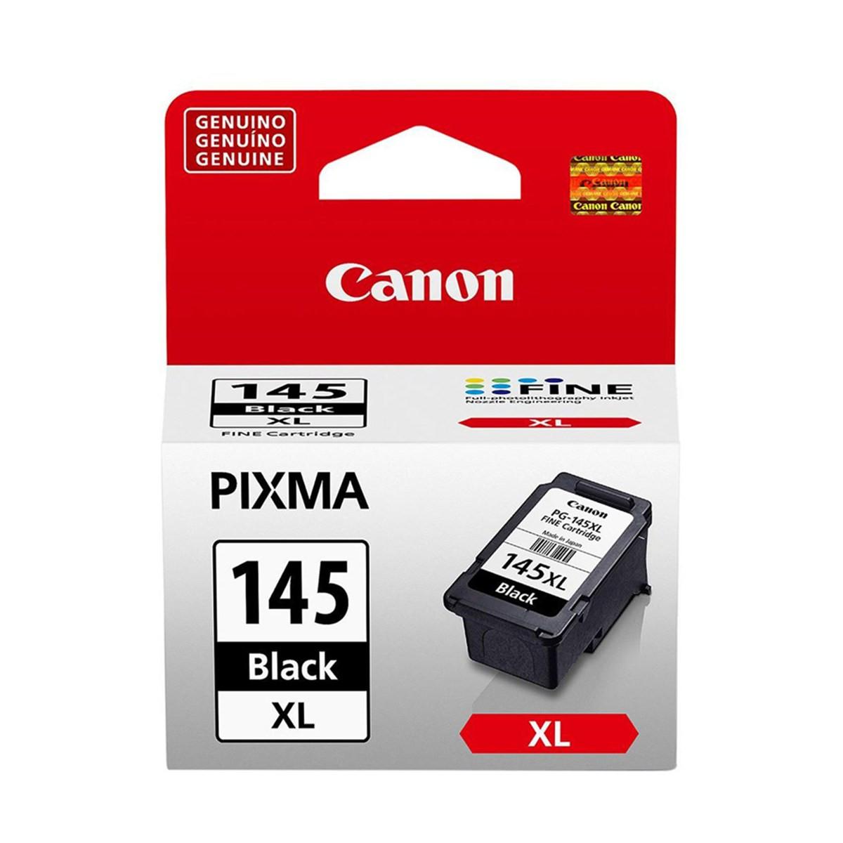 Cartucho de Tinta Canon PG-145XL PG145XL Preto | Original 12ml