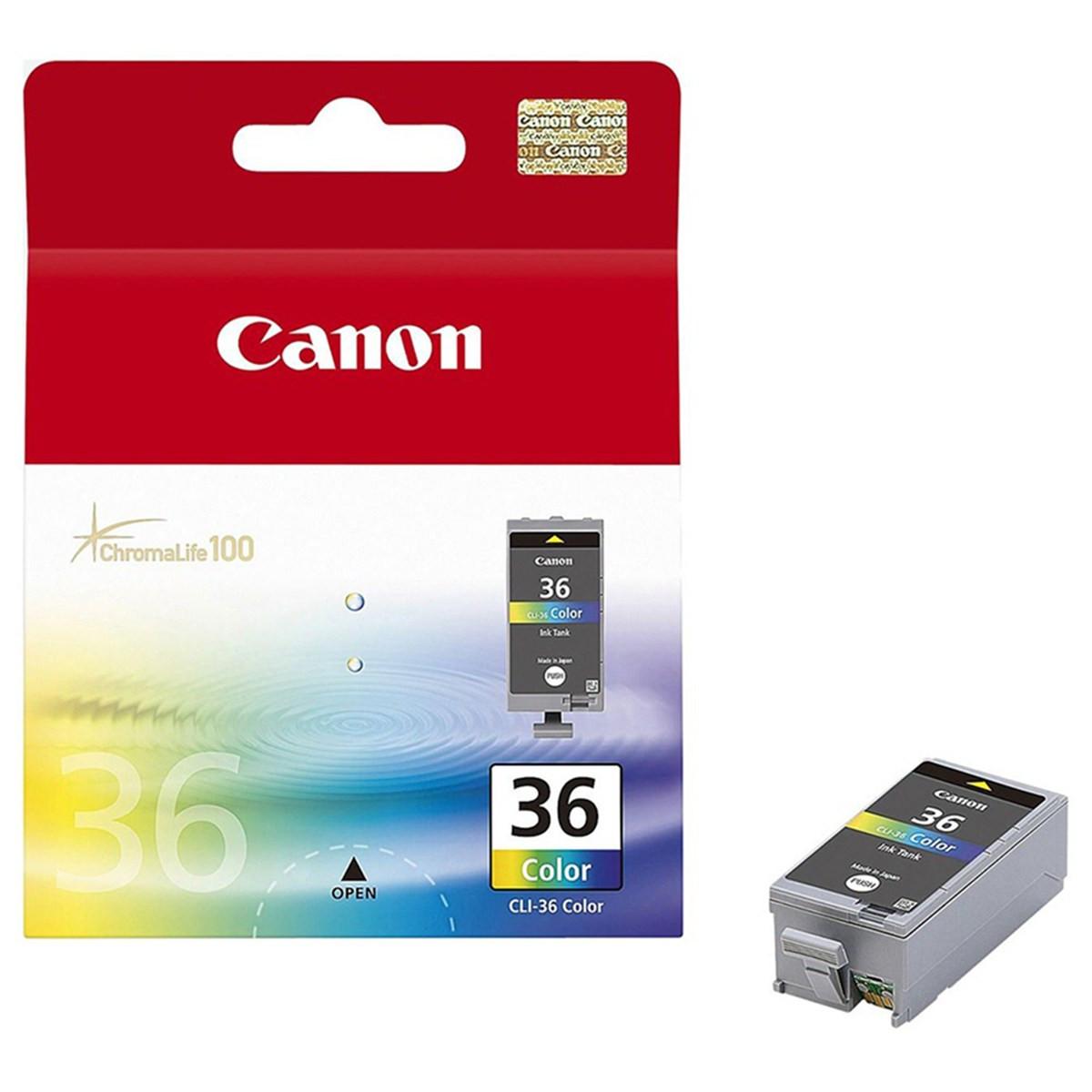 Cartucho de Tinta Canon CLI-36 CLI36 Color | Original 12ml