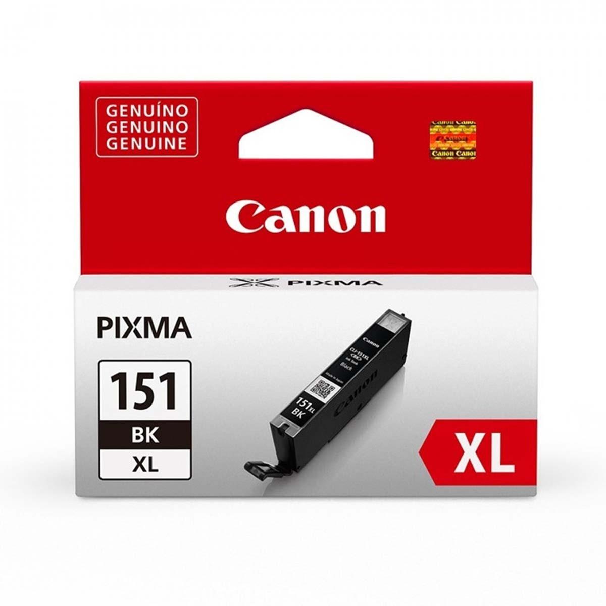 Cartucho de Tinta Canon CLI-151XL CLI-151 Preto | Original 11ml
