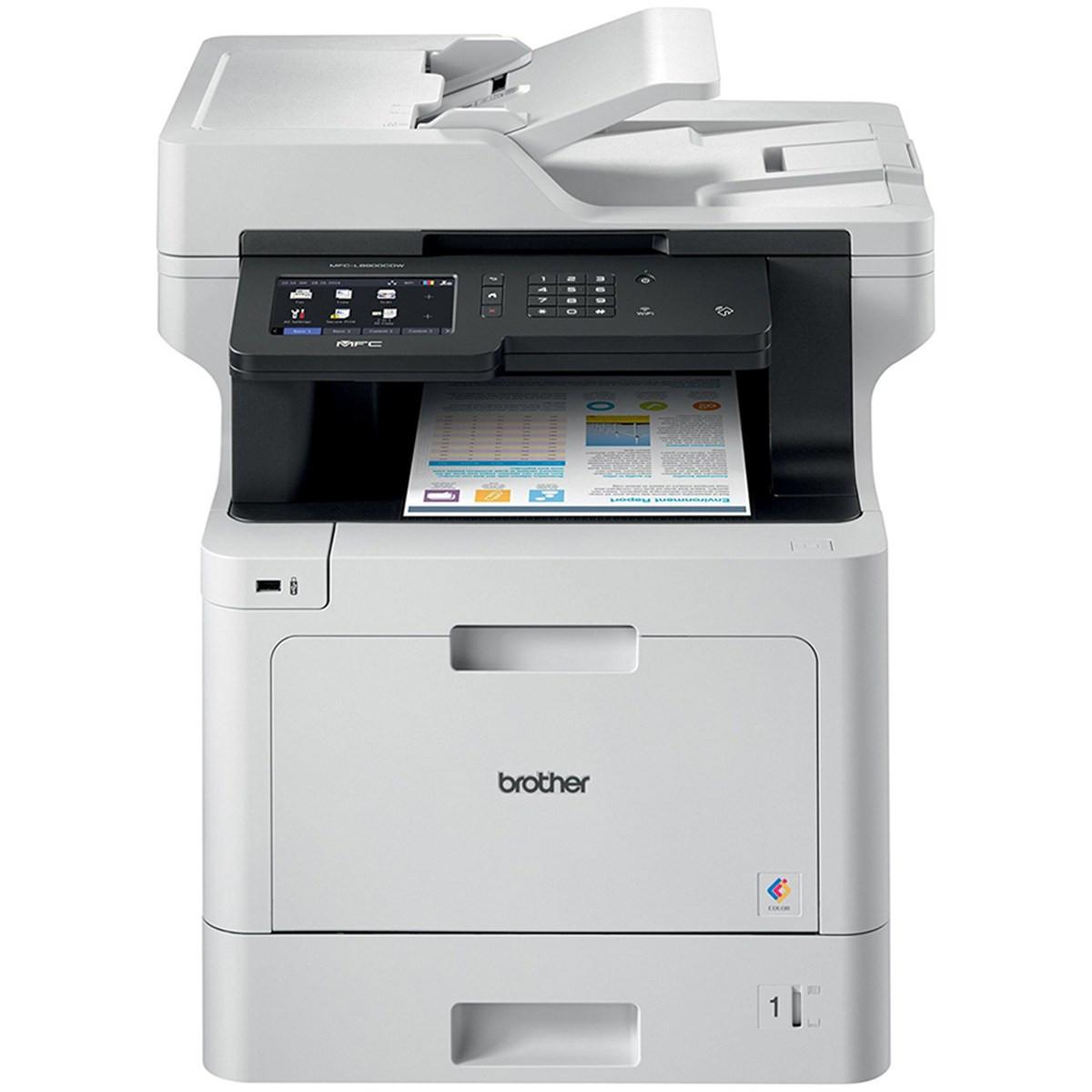 Impressora Brother MFC-L8900CDW Multifuncional Laser Colorida com Wireless e Duplex Completo