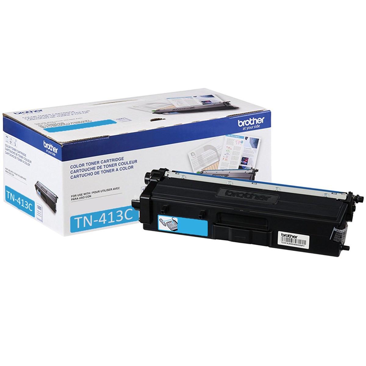 Toner Brother TN-413C Ciano | HL-L8360CDW MFC-L8610CDW MFC-L8900CDW MFC-L9570CDW | Original 4k