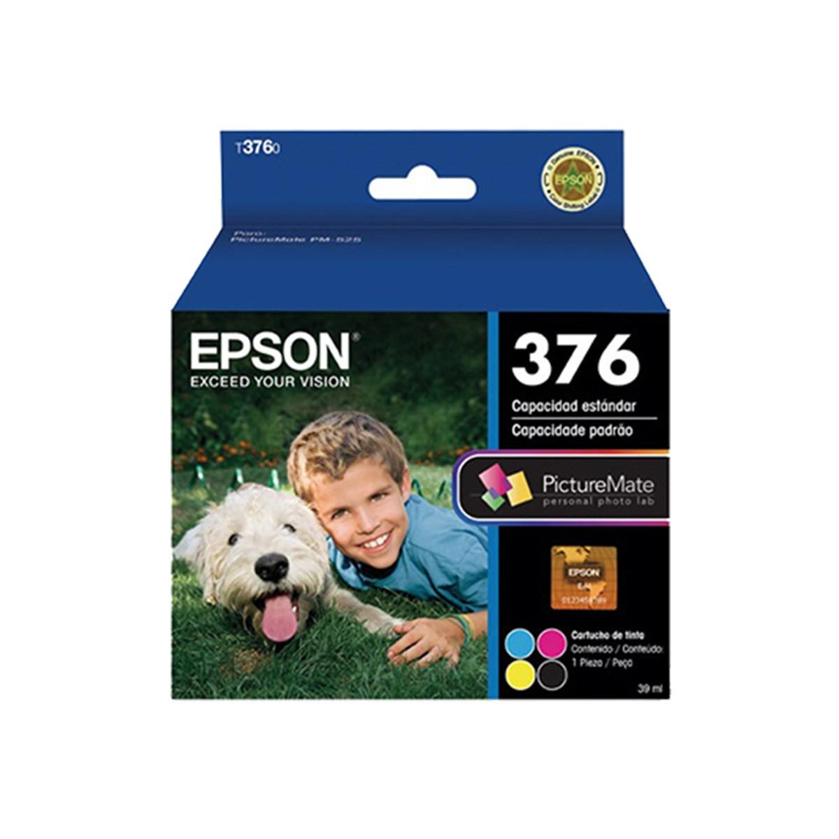 Cartucho de Tinta Fotográfico Epson T376020 4 Cores | PM-525 | Original