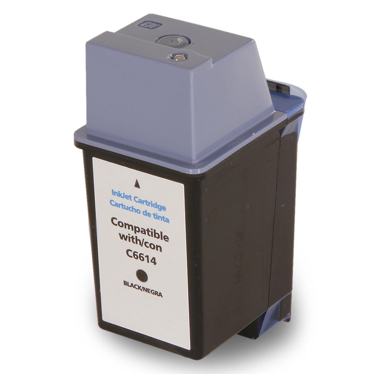 Cartucho de Tinta Compatível com HP 20 C6614D Preto | Deskjet 610C Deskjet 612C Deskjet 630C | 38ml